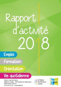 Rapport d'activité MLNV 2018 - Version simplifiée