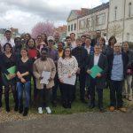 Jeunes et professionnels engagés sur la 6e session 100 Chances 100 Emplois à la MLNV