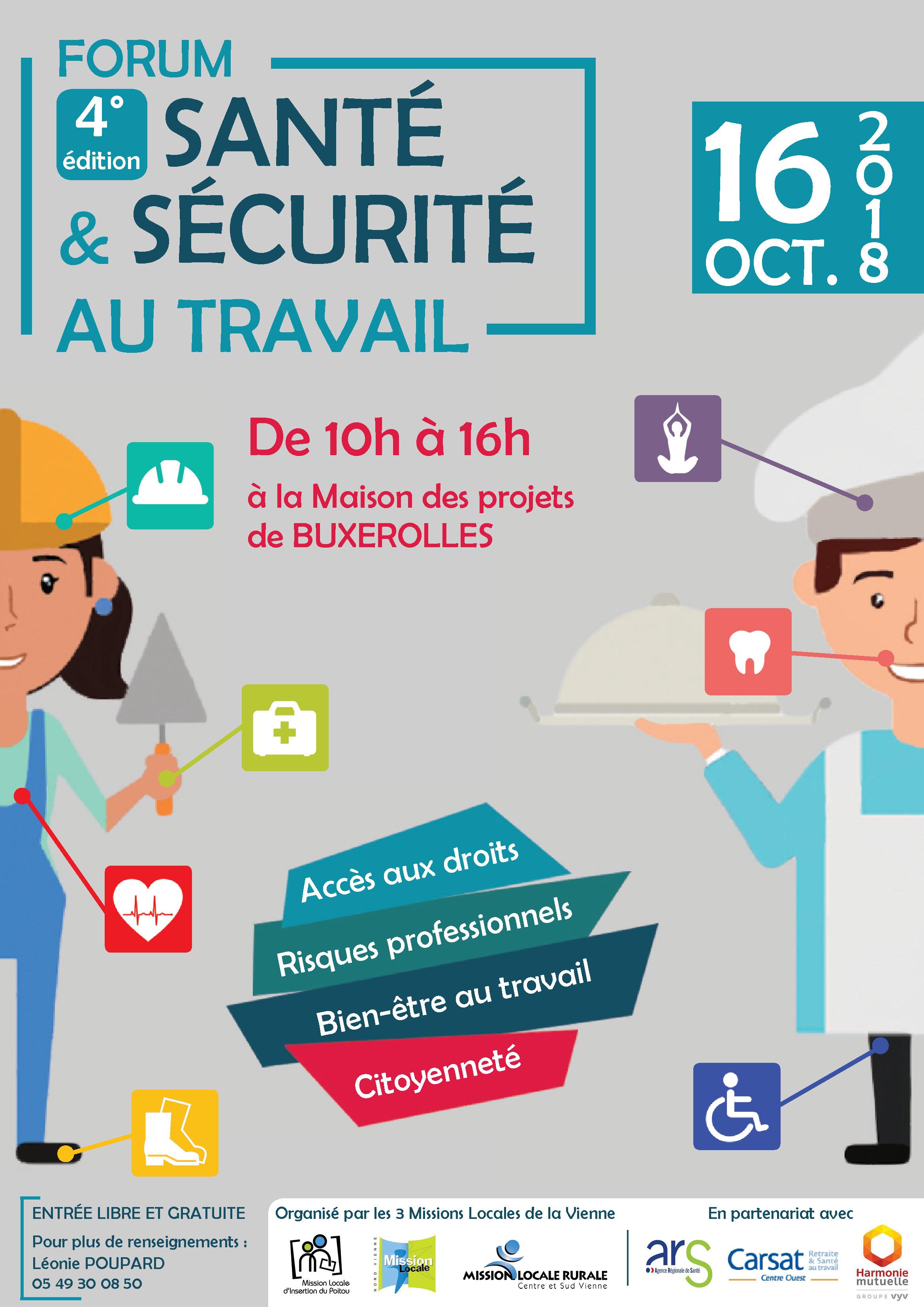 Forum santé et sécurité au travail