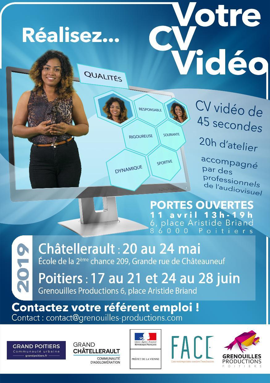 Atelier CV vidéo