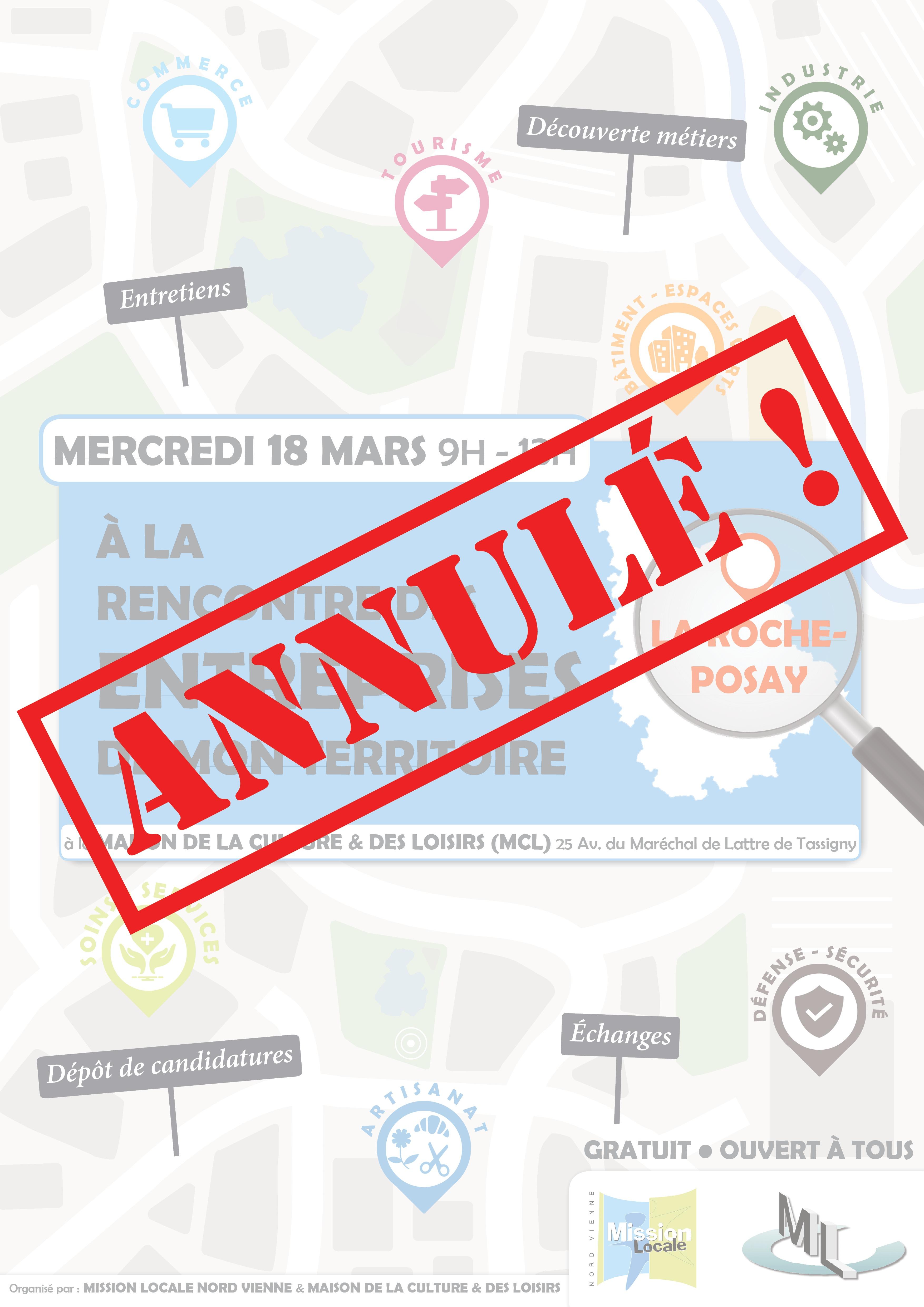 🚨 ANNULÉ – À la rencontre des entreprises de mon territoire : La Roche Posay