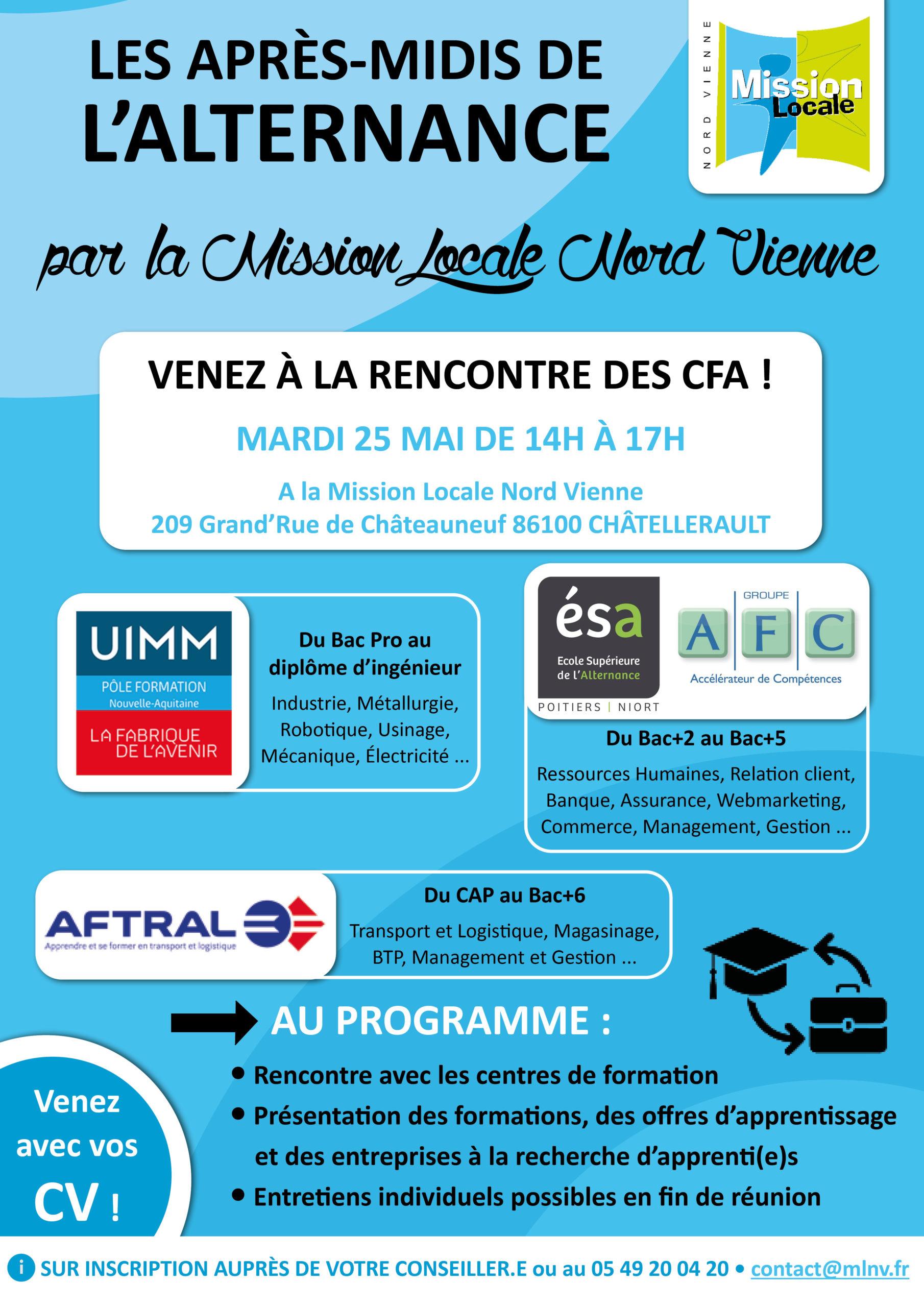 Les après-midis de l'alternance • 25/05/2021 •  Châtellerault